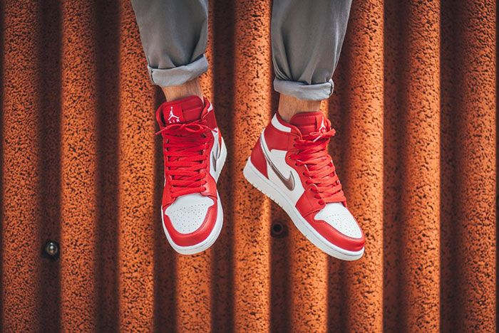 Air Jordan 1 Retro Gym Redsilver 3