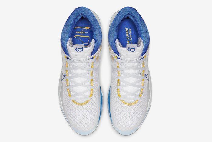 Nike Kd 12 Warriors Home Top