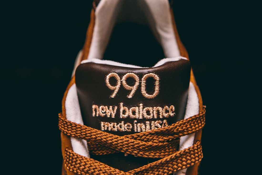 New Balance M990 Dvn2 Made In Usa Tawny Brown8