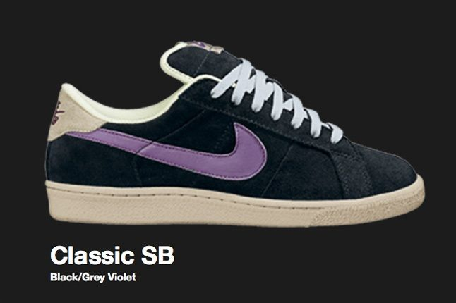 Nike Grey Violet Classic Sb 2007 1