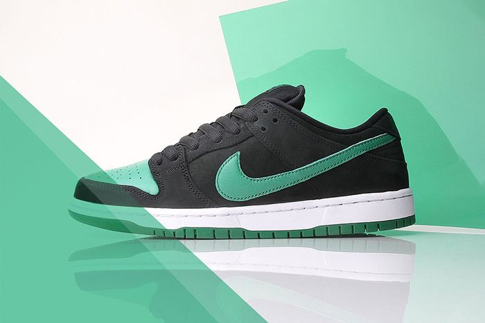 Nike Sb Dunk Low J Pack Black Pine Green White Bq6817 005 Release Date Hero