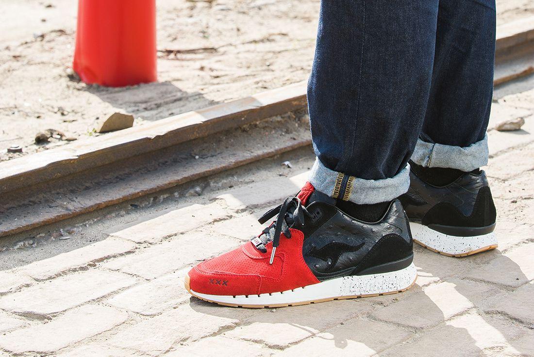 Sneaker Baas X Kanga Roos Coil R 2 Sin City2