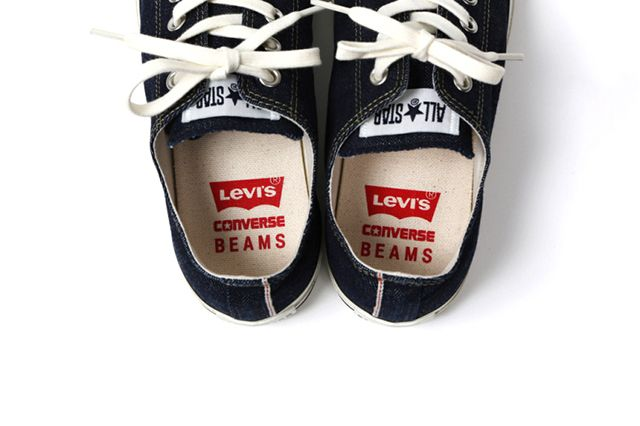 Levis X Converse Denim All Stars For Beams 1