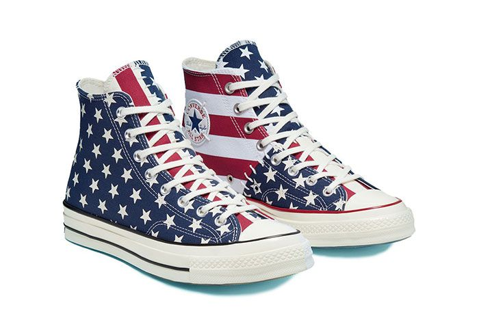 Converse Chuck Taylor All Star 70 Stars And Stripes Blue Red Quarter