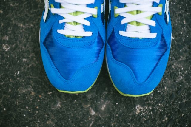 Asics Gt Cool Mid Blue Lime 1