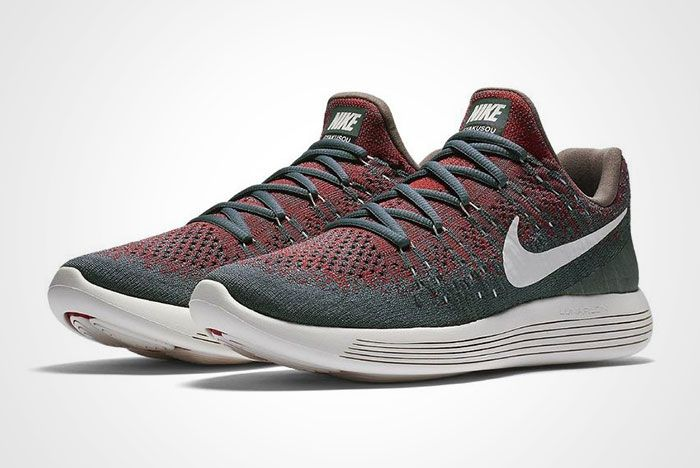 Nike Gyakusou Lunarepic Flyknit Low 2 Green Red Thumb