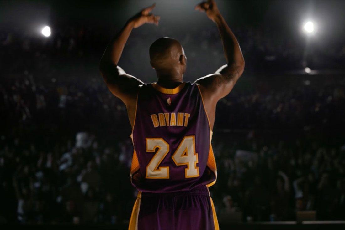 Kobe Bryant Arms Raised