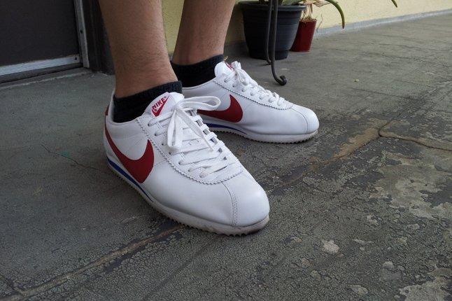 Nike Cortez On Feet 1