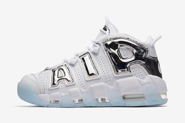 Nike Air More Uptempo Chrome Blue Sneaker Freaker 2