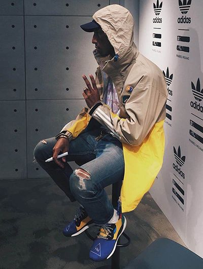 Pharrell Williams Debuts New Hu Nmd Side