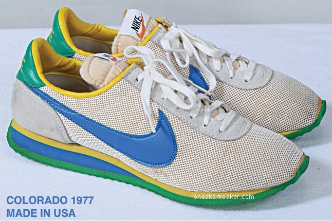 Vintage Collector Lindy Darrell Nike Runners 13