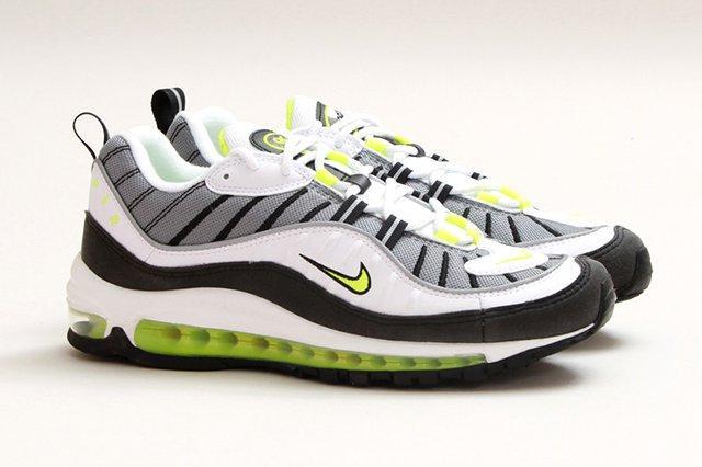 Nike Air Max 98 Black Volt 1