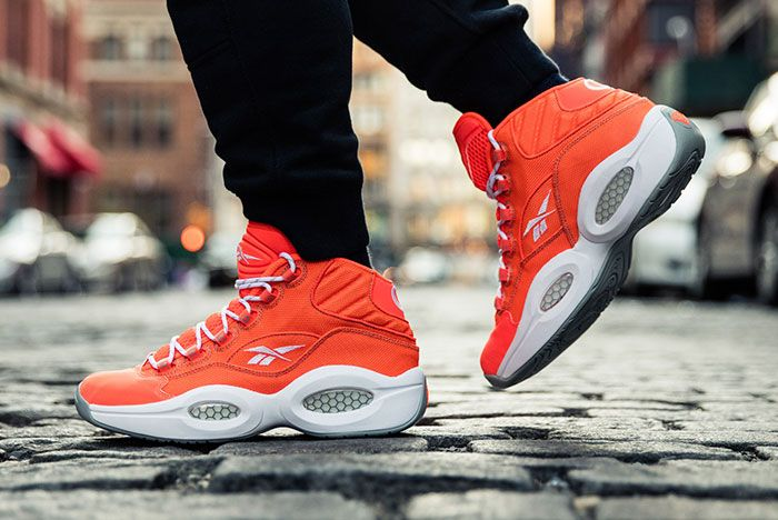 Reebok Question Mid Only The Strong Survive 10