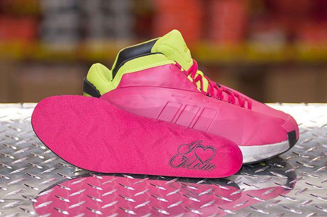Adidas Crazy 1 Vivid Berry Innersole