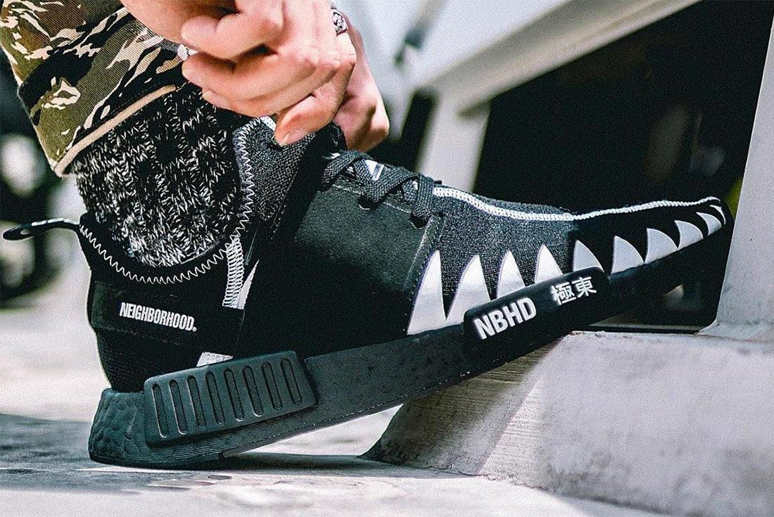 Neighborhgood X Adidas Nmd R1 3