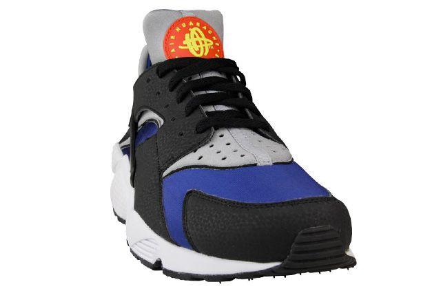 Nike Air Huarache Deep Royal Wolf Grey 3