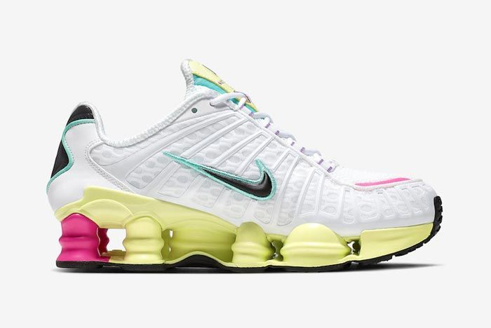 Nike Shox Tl Pastel Medial