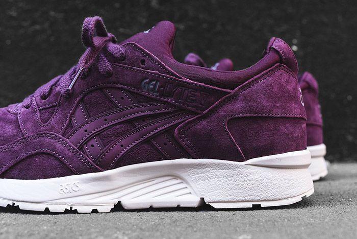 lucha acumular Inspeccionar  ASICS Crush a Grape Flavoured GEL-Lyte V - Sneaker Freaker