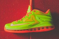 Nike Lebron 11 Low Gs Electric Green Thumb