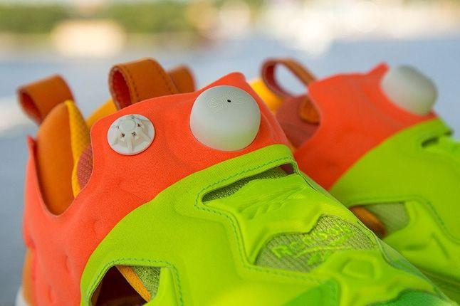 Sneakersnstuff Reebok Pump Fury Popsicle Pump Detail