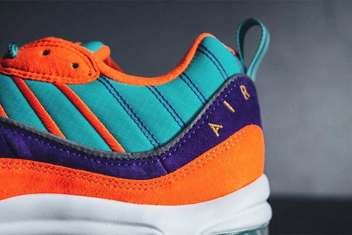 Nike Air Max 98 Qs Cone Tour Yellow Hyper Grape Sneaker Freaker 2