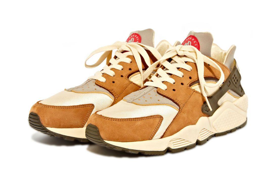 Stussy Nike Air Huarache Desert Oak