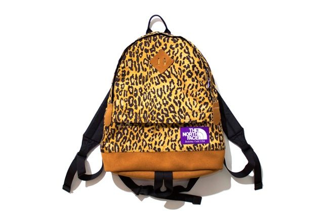 The North Face Purple Label Leopard Print Collection 2013 Backpack 1