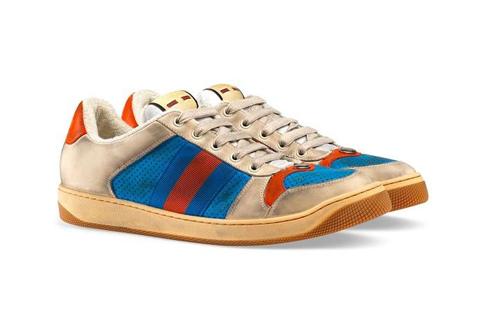 Gucci Distressed Sneakers Gg Canvas Release 5