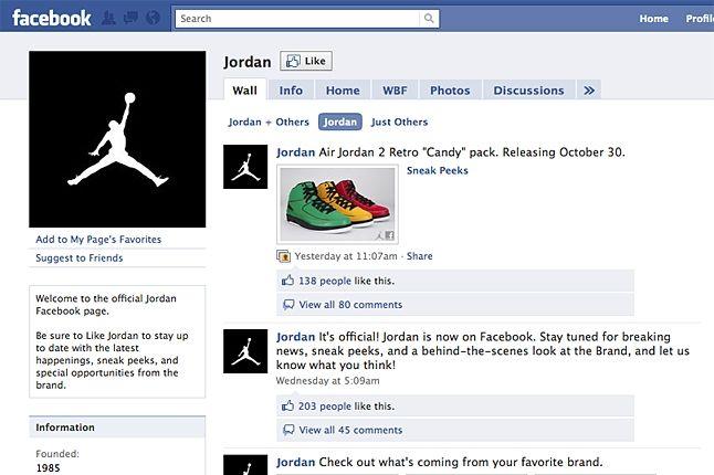 Jordan Brand Facebook 1