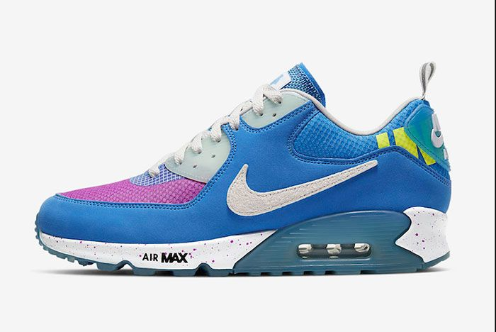 Undefeated Nike Air Max 90 Pacific Blue Cq2289 400 Release Date 1 Official