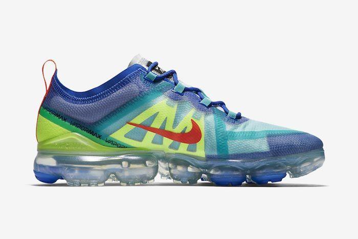 Nike Air Vapormax 2019 Multicolour Medial