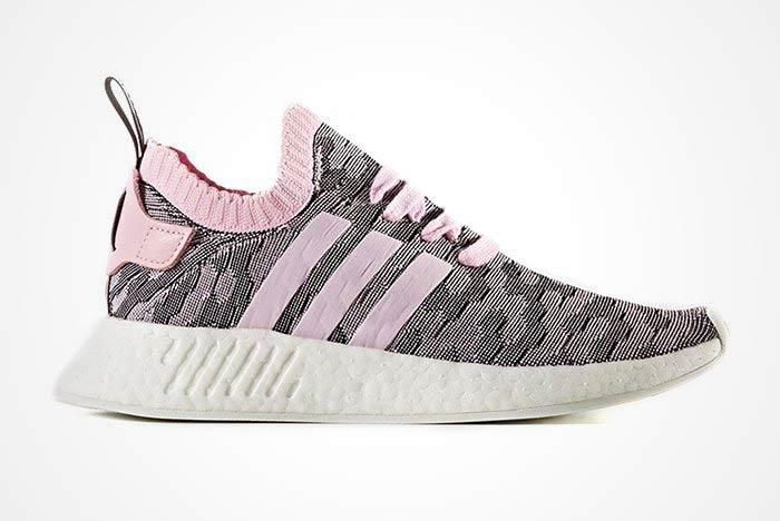 Adidas Nmd R1 Pink Feature