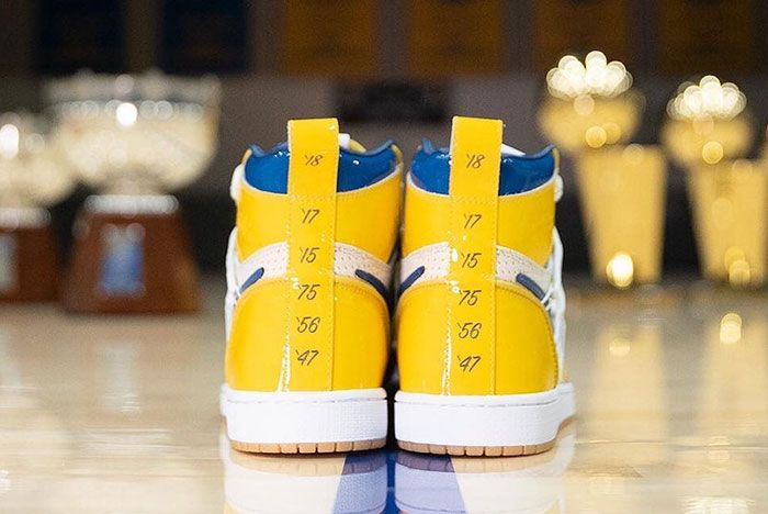 Golden State Warriors Air Jordan 1 Championship Release Date 5