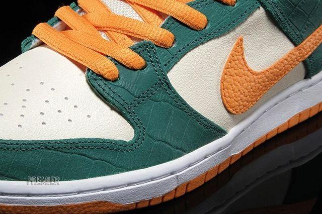 Nike Sb Dunk Low Legion Pine Kumquat 2