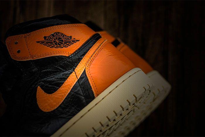 Air Jordan 1 Shattered Background Heel 1