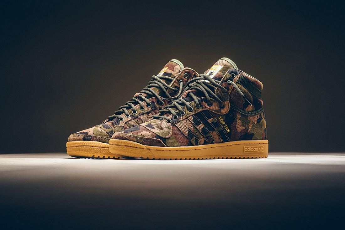 Adidas Top Ten Hi Camo