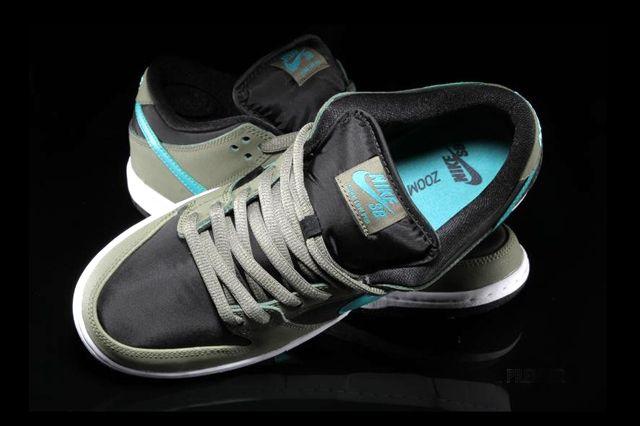 Nike Sb Dunk Low Olive Turbo Green 1
