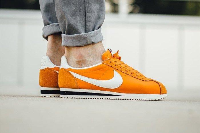 Nike Cortez Nylon Aw Clay Orange 2