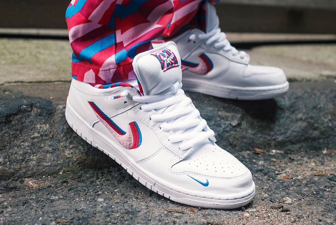 Nike Sb Parra Dunk On Foot