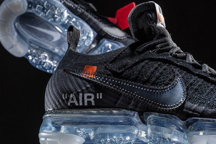 Off White X Nike Air Vapormax 1
