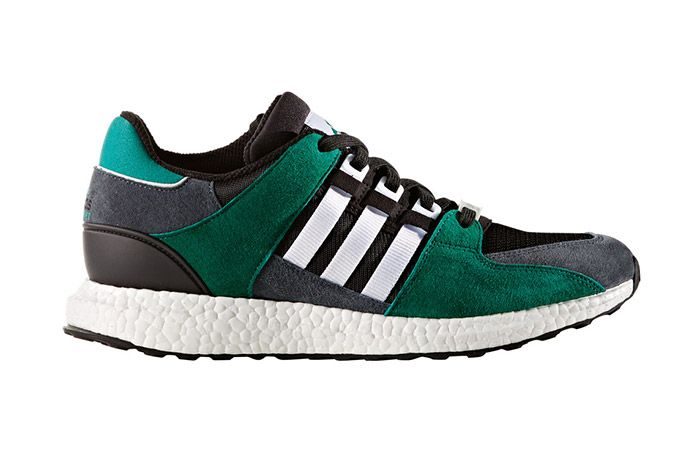 Adidas Eqt Support 93 16 Boost Green Black 1