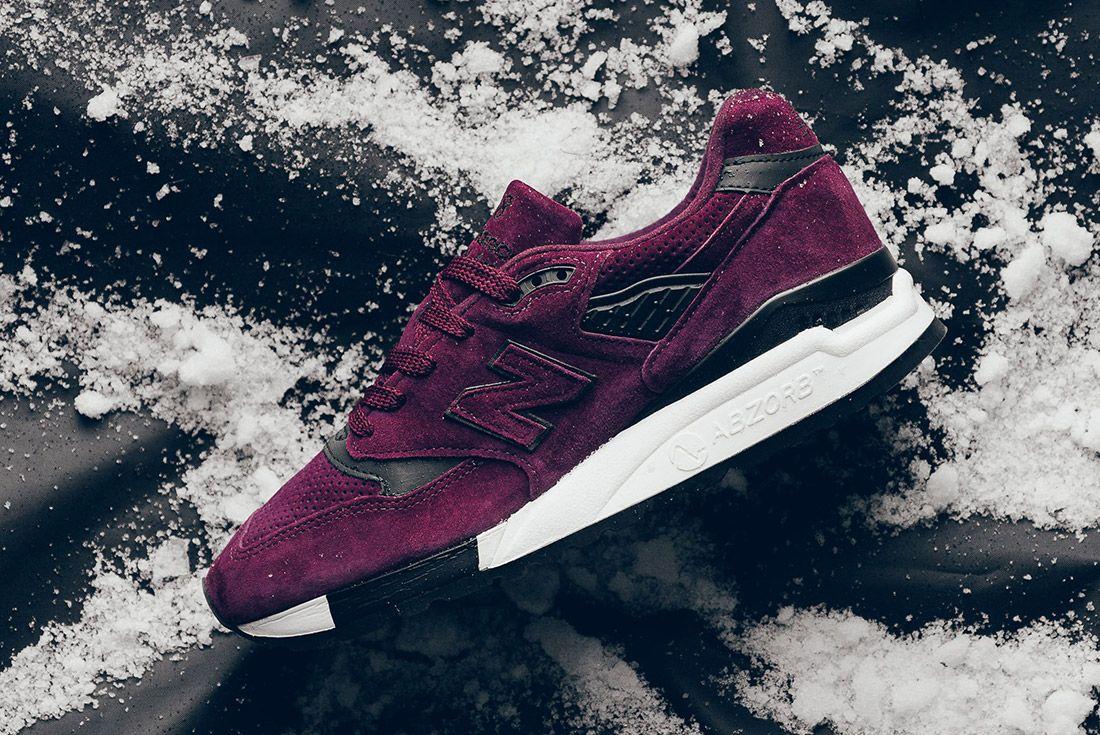 New Balance M998 Cm 998 Burgundy Sneaker Politics Sneaker Freaker 1
