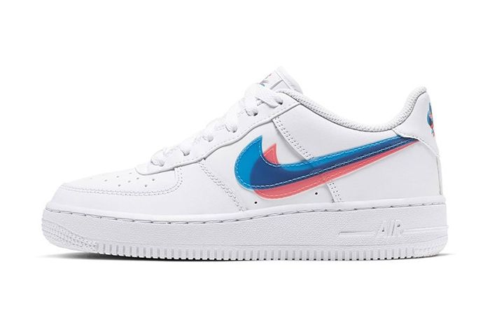 Nike Air Force 1 Low 3D Gs Release Date Lateral