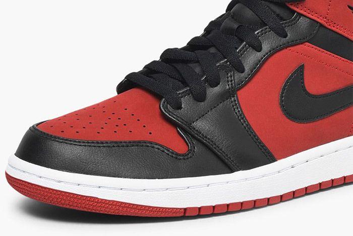 Jordan Air Jordan 1 Mid 554724 610 Gym Red Black White 3