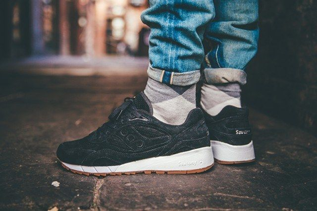Saucony Irish Coffee Pack On Foot 12 640X4271