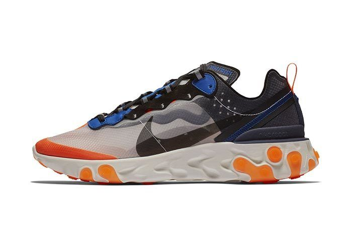 Nike React Element 87 Orange 3