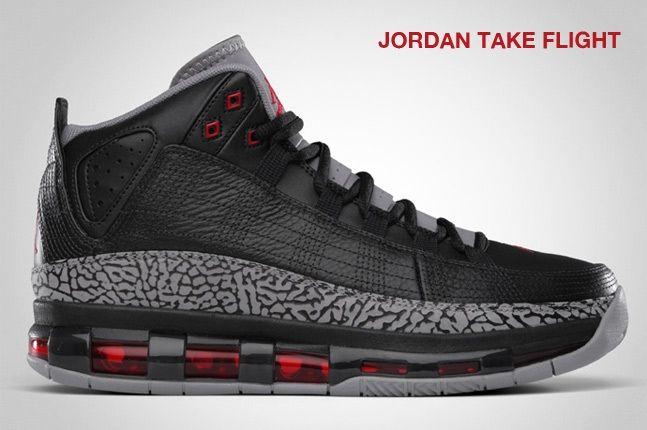 Jordan Take Flight Black 1