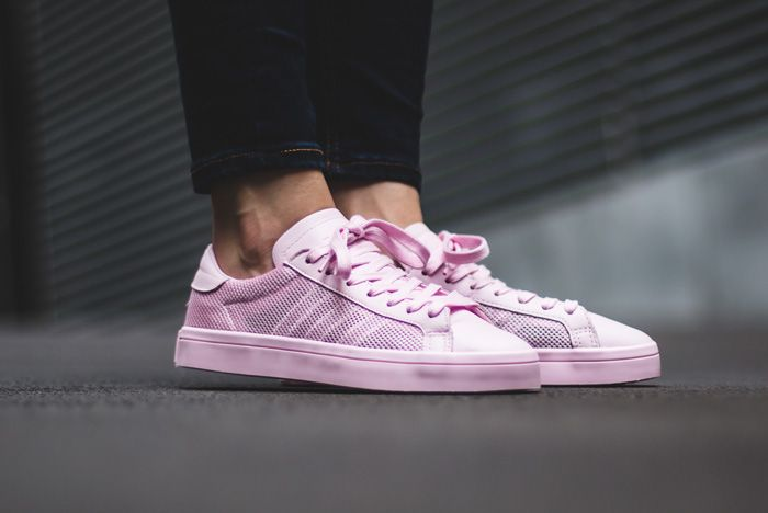 Adidas Court Vantage Clear Pink1