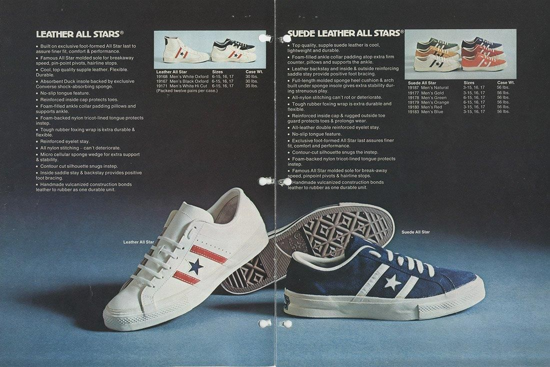 History Of Converse One Star Advertisement 87