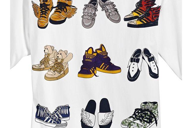 Jeremy Scott Adidas Tee 1